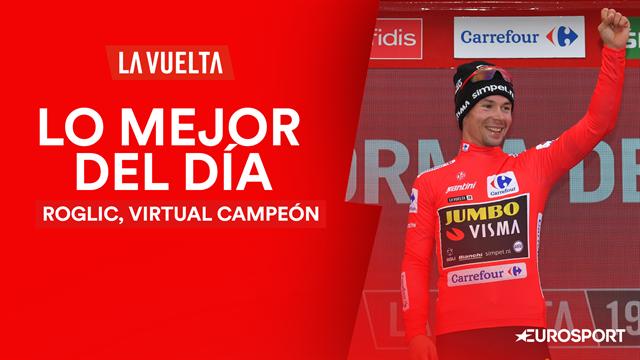 Vuelta a España 2019, lo mejor del día (20ª etapa): Primoz Roglic ya tiene su primera 'Grande'