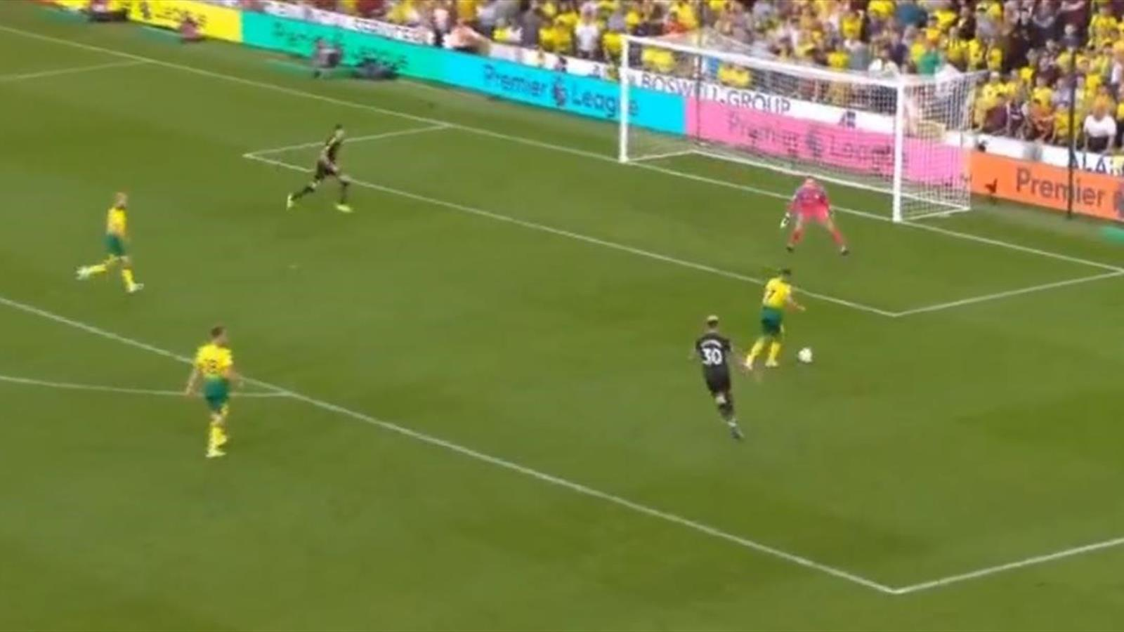 Видео голов из матча «Норвич» – «Манчестер Сити» – чемпионат Англии