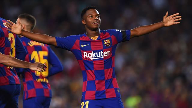 Ansu Fati, convocado con la Sub-21 en sustitución de Carles Pérez
