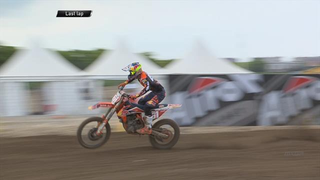 Motocross China MX2 (1ª carrera). Prado sigue intratable y logra su victoria número 30