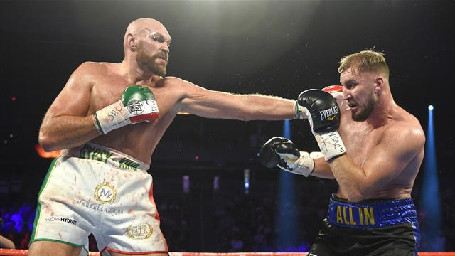 Fury overcomes wound and Wallin for points victory