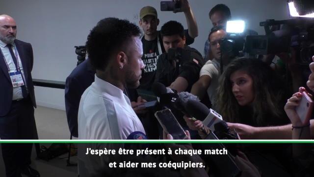 """Neymar : """"Quand vous ne vous sentez pas bien dans un travail, vous en cherchez un autre"""""""