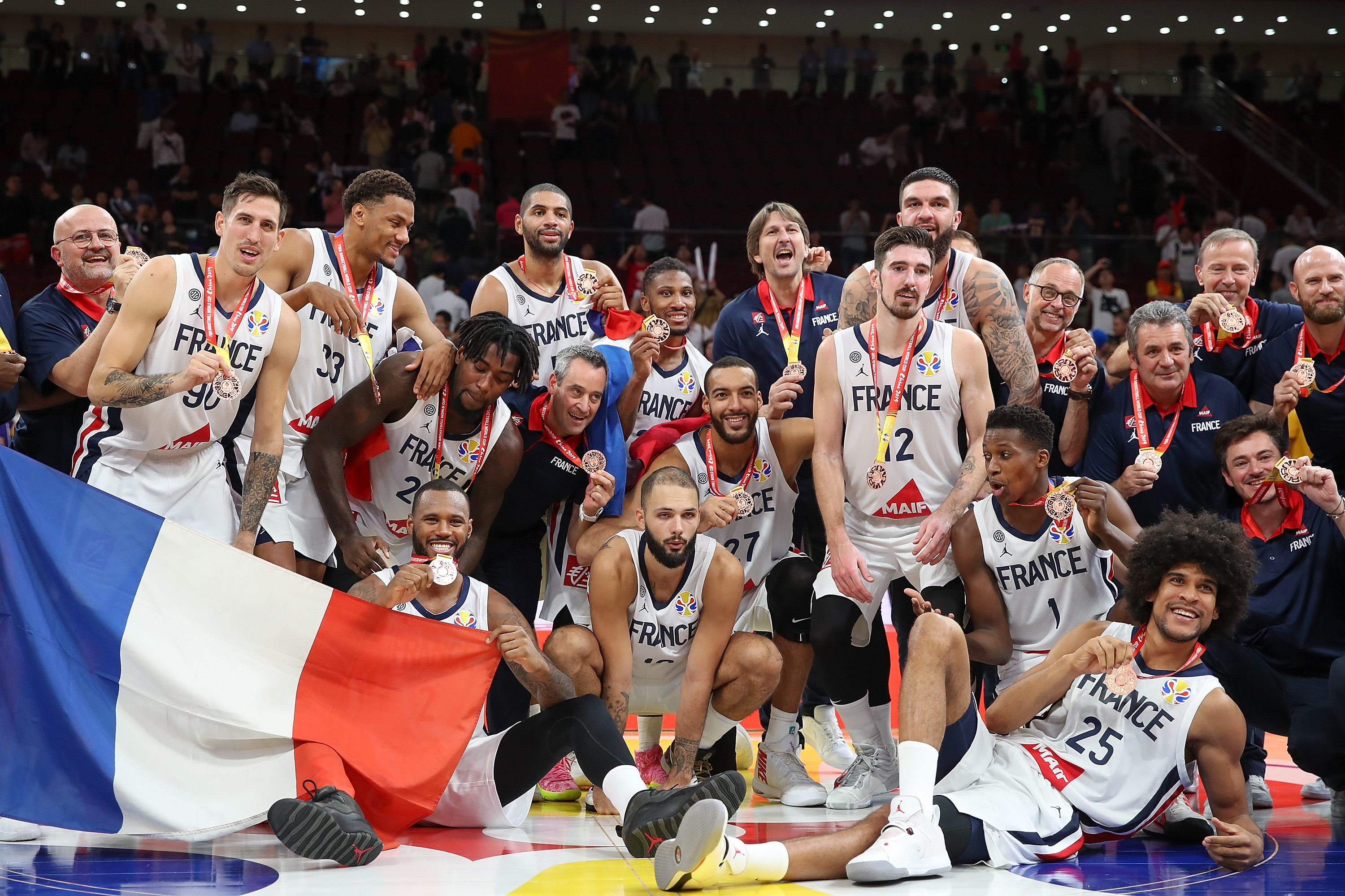 FIBA Basketball World Cup: France takes bronze medal after beating Australia