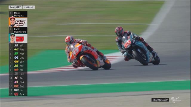 MotoGP | Quartararo vs. Marquez in laatste ronde pas beslist