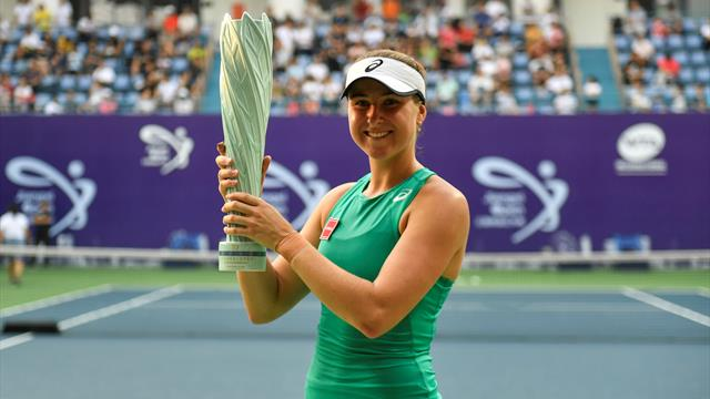 Peterson eases past Rybakina to win maiden WTA title in Nanchang