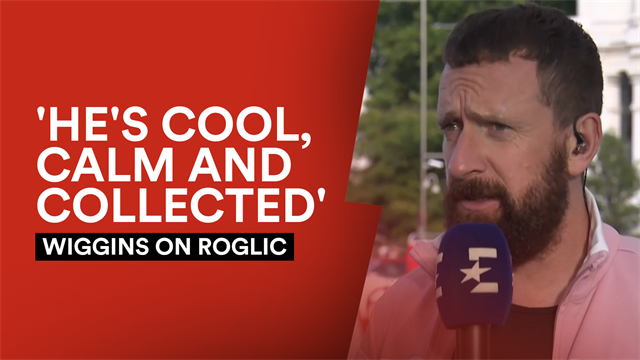 'He's an absolute gentleman of the sport' - Wiggins lauds Roglic