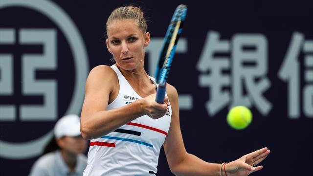 Pliskova beats Martic in Zhengzhou to win her fourth title of 2019