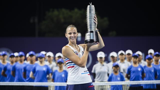 Pliskova se rapproche de la place de n°1 mondiale