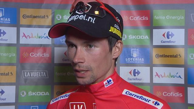 'A great feeling' - Roglic basks in Vuelta victory in Madrid