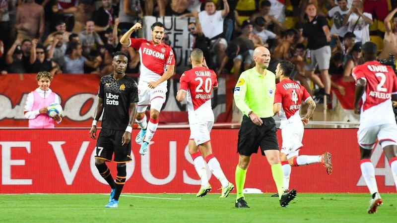Wissam Ben Yedder buteur pour Monaco contre Marseille en Ligue 1 le 15 septembre 2019