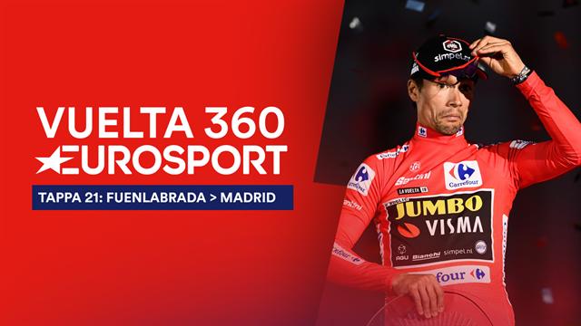 """""""Vuelta 360"""", tappa 21: Pagelle, premi e festa per Primoz Roglic, Rey de la Vuelta"""