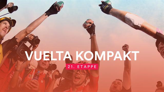 Mit Heiratsantrag und Bier: So lief die letzte Etappe der Vuelta