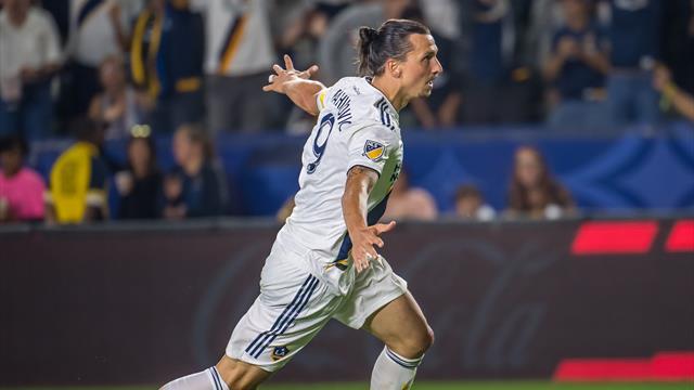 Un triplé et un record pour Zlatan, un carton pour le Galaxy