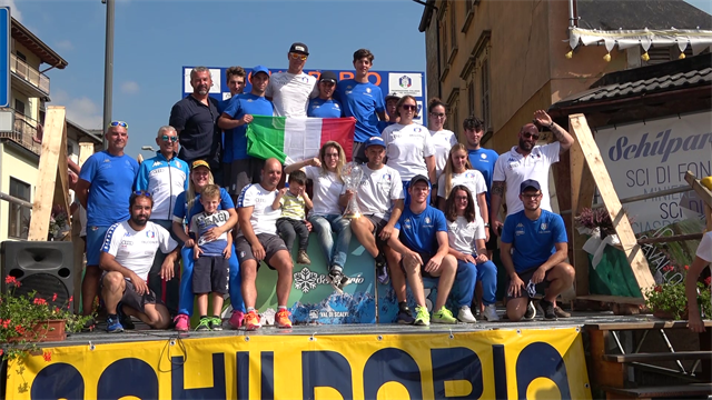 Finali di Coppa del Mondo di sci d'erba a Schilpario: Arrigoni vince il superG di chiusura