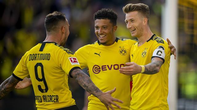 Aidé par un excellent Reus, Dortmund a marché sur Leverkusen