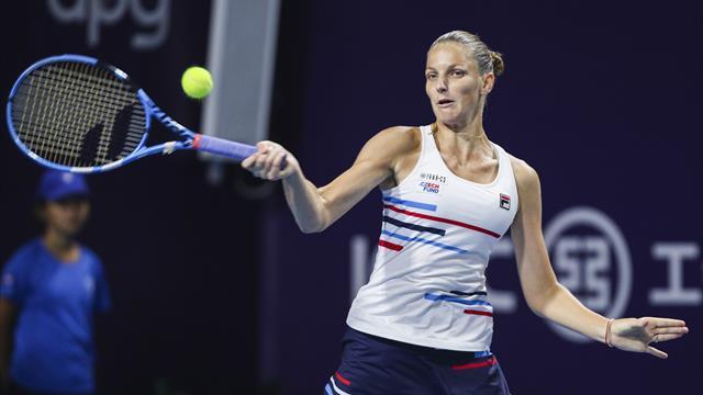 Pliskova qualifies for WTA Finals in Shenzhen