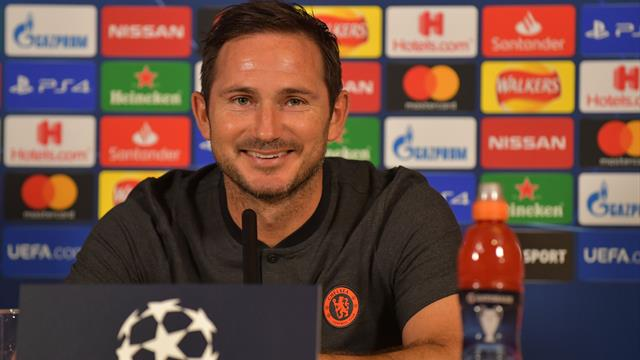 Lampard 'proud' to lead Chelsea in CL managerial debut