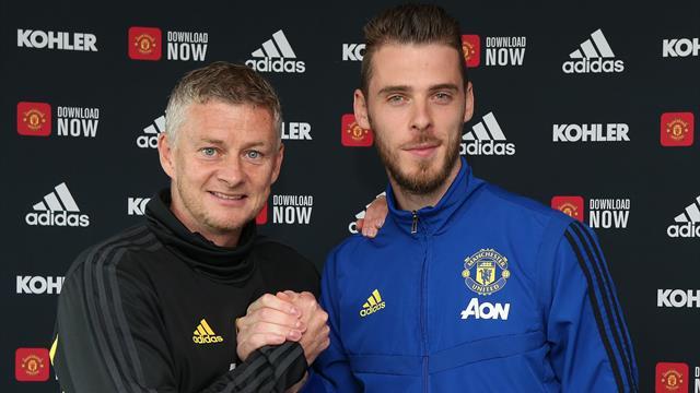 De Gea signs new Manchester United deal