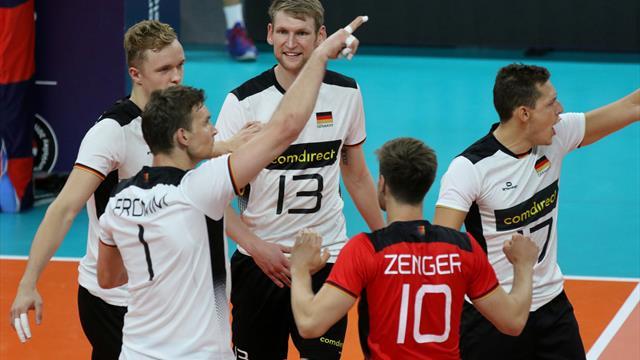 Pleite gegen Spanien: Nächster Dämpfer für deutsche Volleyballer