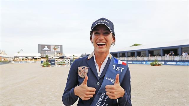 Jessica Springsteen feiert mit Sieg im Longines Grand Prix ihren bislang größten Erfolg