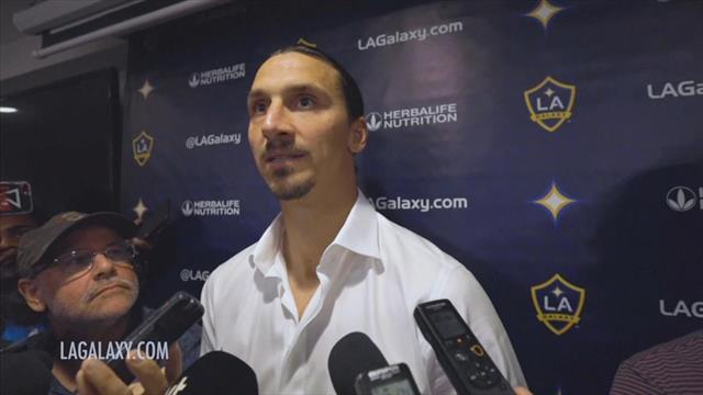 """Ibra contro i giornalisti: """"Sono il migliore della storia della MLS, non devo dimostrare niente"""""""