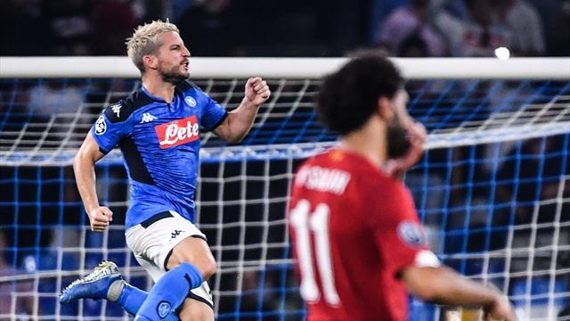 Mertens, Llorente fire Napoli past Liverpool