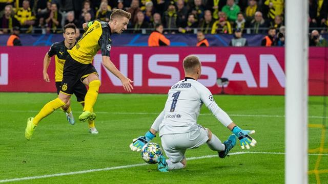 Champions League, Dortmund-Barcelona: Ter Stegen rescata un punto en Alemania (0-0)