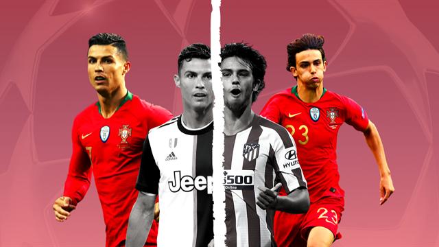 Atletico-Juventus, Joao Felix sfida Ronaldo: ma com'era CR7 alla sua età?