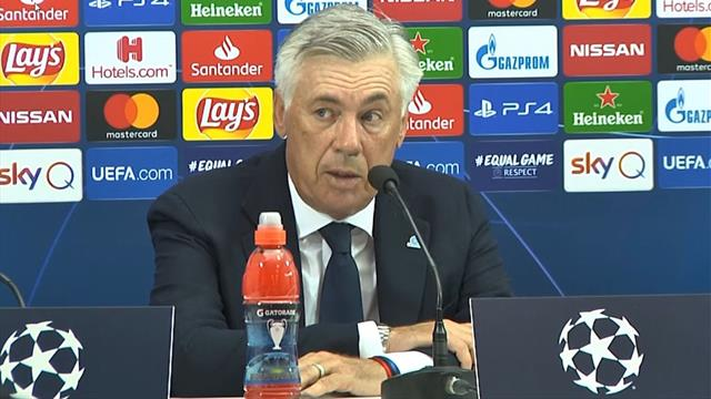 """Ancelotti: """"Klopp dice che il Napoli può vincere la Champions? Lui conosce bene il calcio"""""""