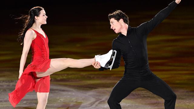 Dreimal Olympiagold: Eistänzer Virtue/Moir beenden Karriere