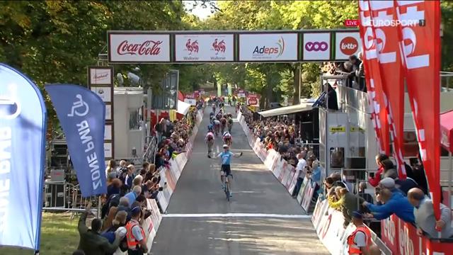 Krists Neilands wint op prachtige wijze GP Wallonië