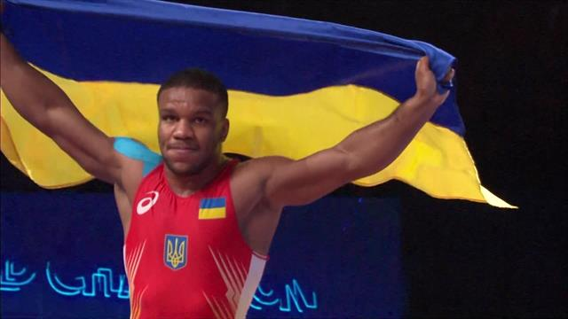 Beleniuk edges out Lorincz to win 87kg Greco-Roman wrestling gold