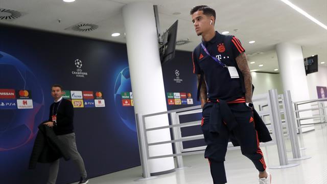 Aufstellung | Coutinho darf von Beginn an ran, Boateng nur auf der Bank