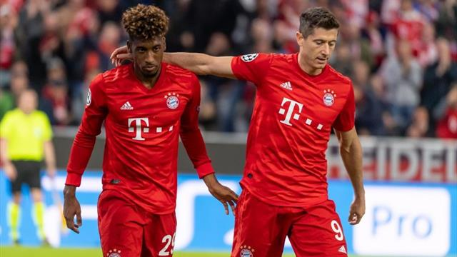 Bayern score routine Red Star win in Champions League opener