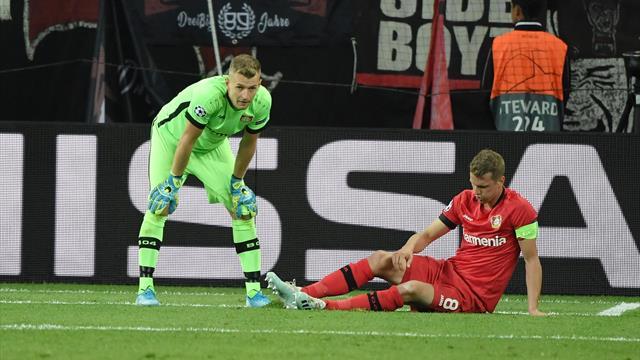 Hradecky patzt: Leverkusen verliert gegen Moskau