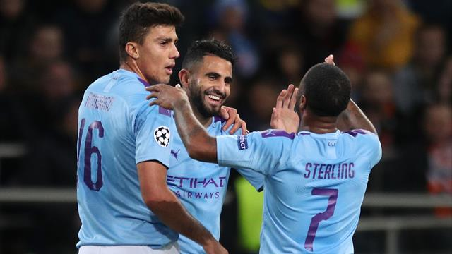 City back on top after easy with over Shakhtar Donetsk