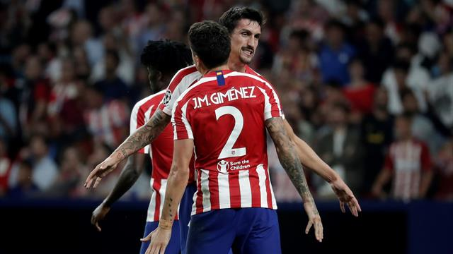 Atletico late show stuns Juventus