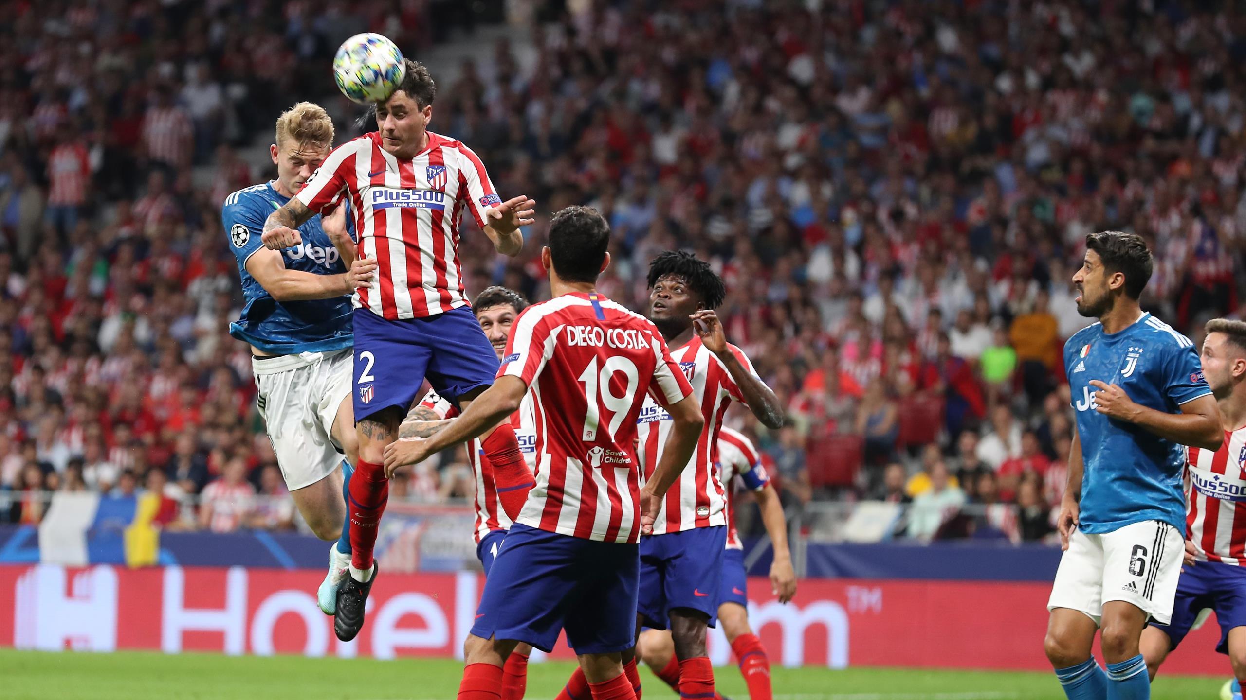 Juventus Atletico Madrid In Diretta Tv E Live Streaming Eurosport