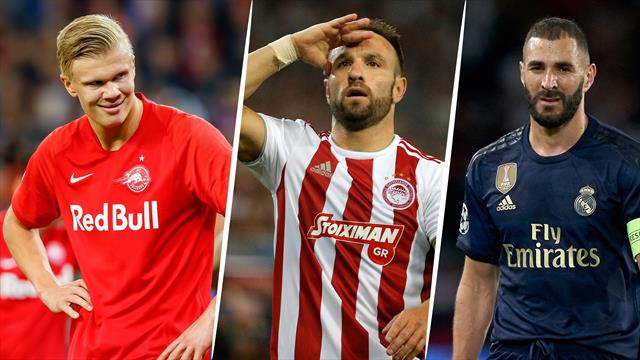 Ligue 1 des champions, triplés d'inconnus, stars éclipsées : les tops et les flops de la 1re journée