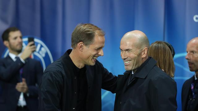 La leçon de Tuchel fragilise un peu plus l'avenir de Zidane