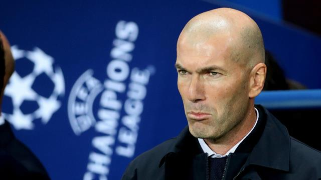 Zidane culpa a sus jugadores de la derrota en París