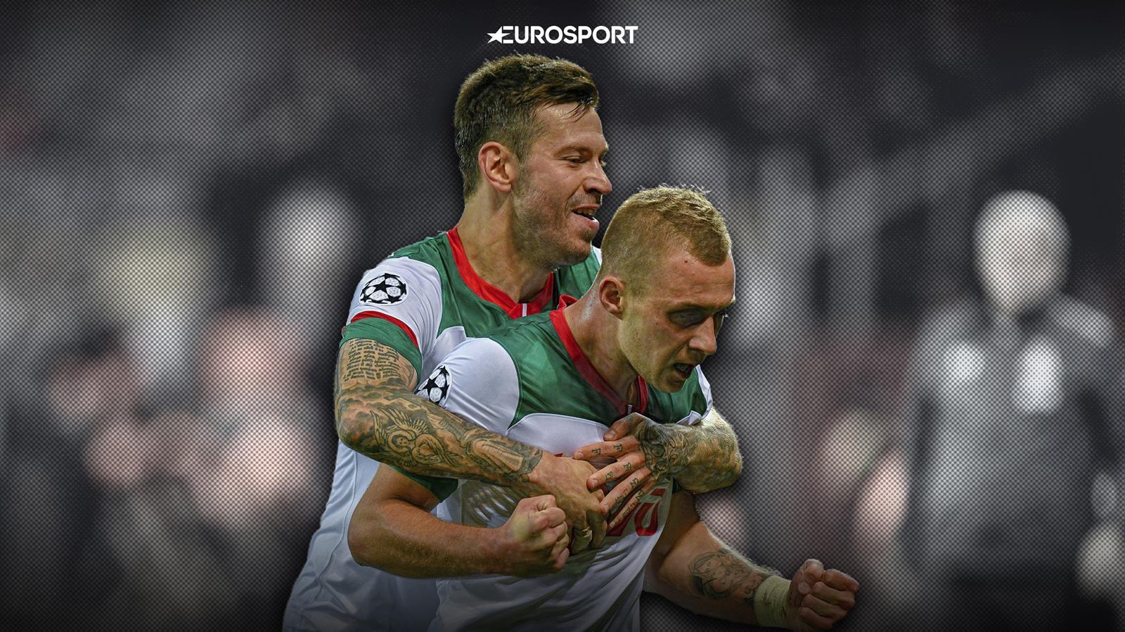 Репортаж футбольного матча немецкой лиги