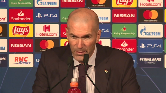 Zidane - 'They were superior to us in everything'