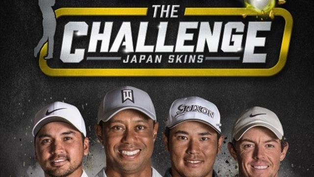 "Woods headlines ""The Challenge: Japan Skins"""