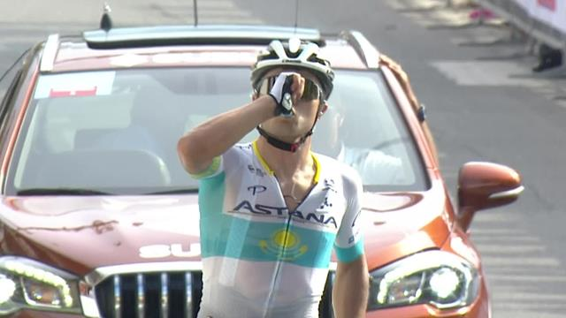 Alexey Lutsenko produces stunning solo ride to win Coppa Sabatini