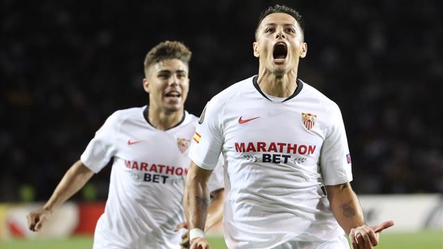Europa League, Qarabag-Sevilla: Goleada de museo en el debut europeo (0-3)