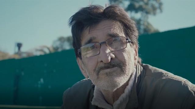 Él es Justo, el hincha uruguayo que conmovió a la FIFA