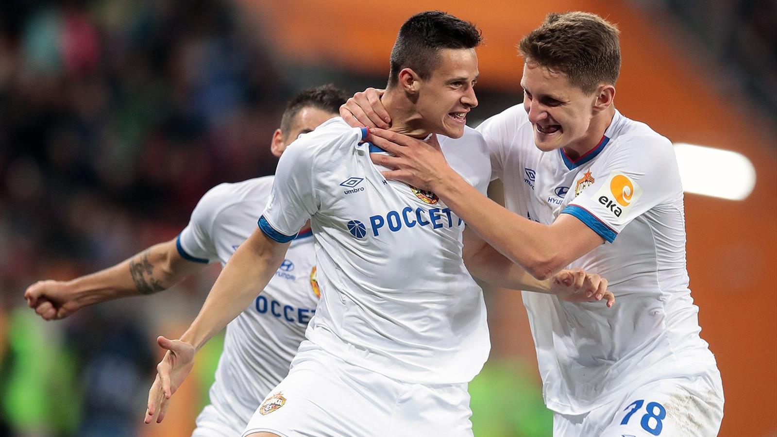 ЦСКА проиграл 1:5 «Лудогорцу» в Лиге Европы (голы, видео)