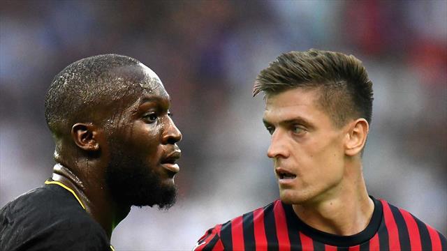 """Lukaku-Piatek, il derby della """"9"""" troverà un erede dopo Icardi e Inzaghi?"""