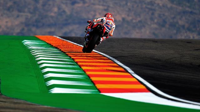 Yamaha encore maté par Marquez